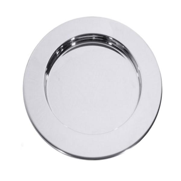 Platzteller Edelstahl ø 35cm Farbe: Silber Top Qualität