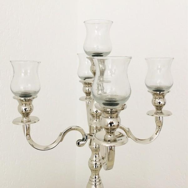5 x Glasaufsatz 10cm klar cur dickes Gastro - glas mit Gummiring NEU!!!